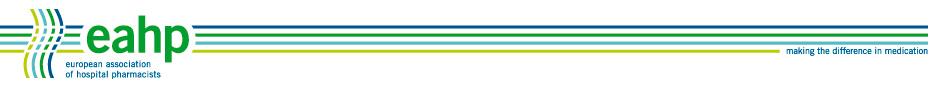 European Association of Hospital Pharmacists logo